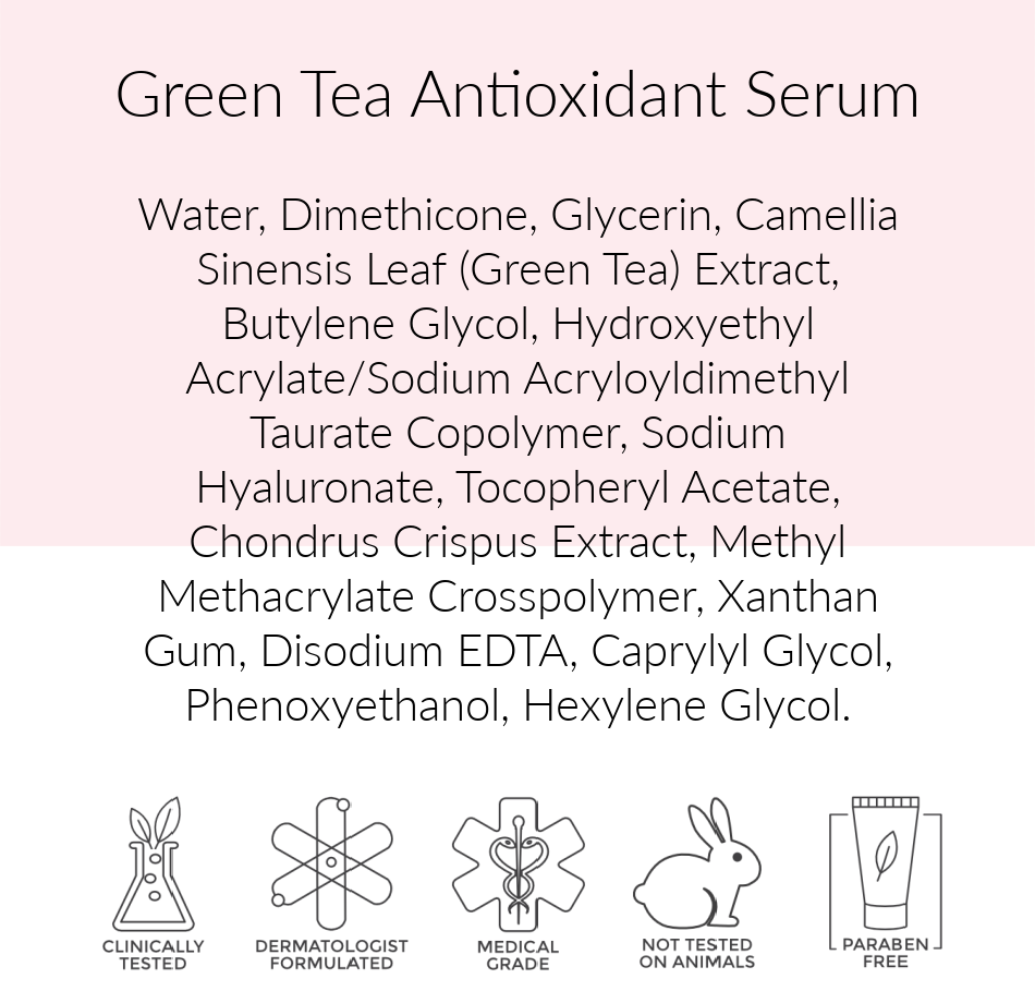 Pink Avenue Green Tea Antioxidant 30ml