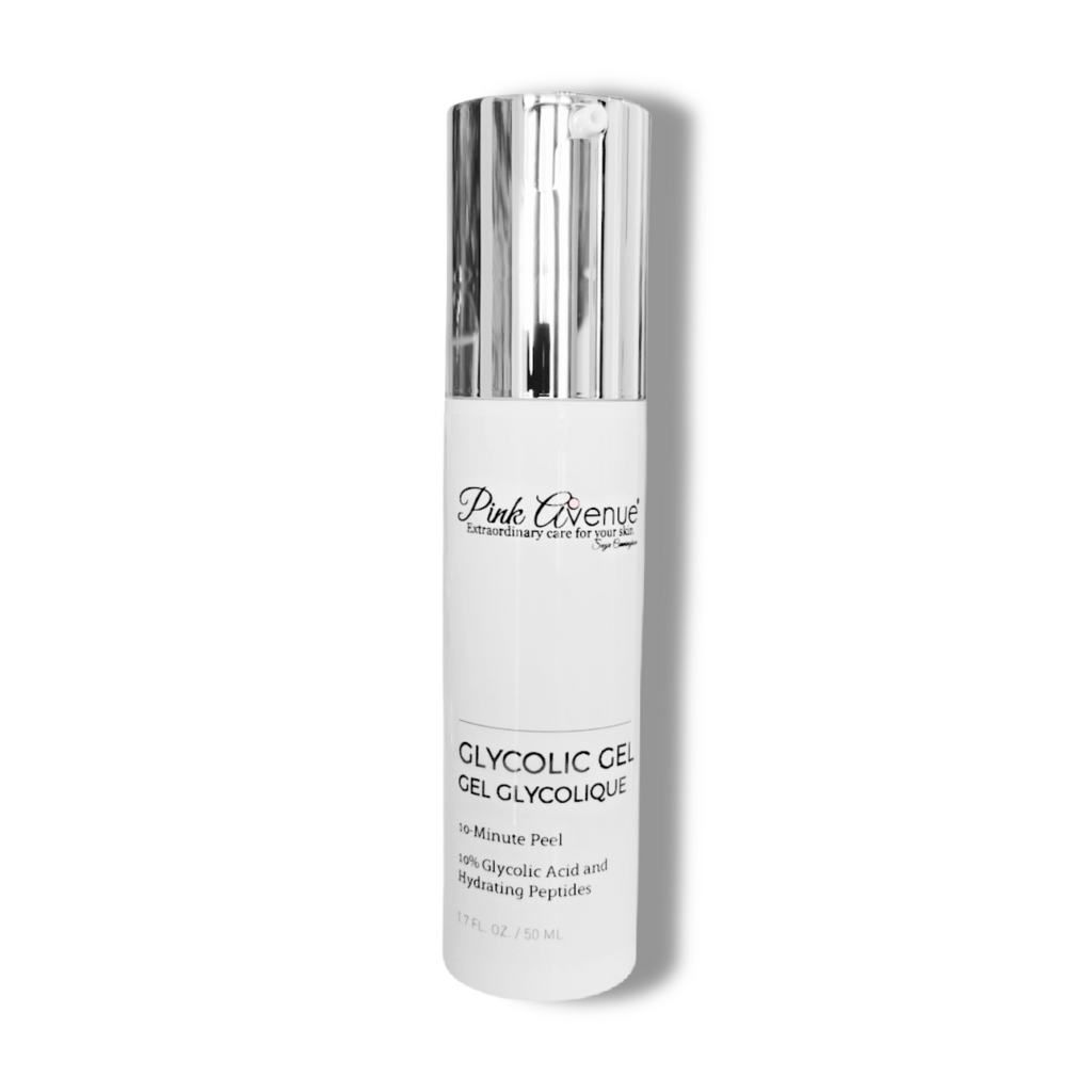 Glycolic Gel Peel 10%, Pink Avenue Skin Care, Toronto, ON