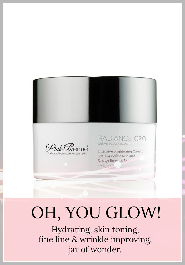 Best Brightening Creme, hyperpigmentation, Radiance C 20, Pink Avenue Skin Care, Toronto, ON