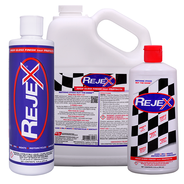 What is the difference between RejeX bottles?