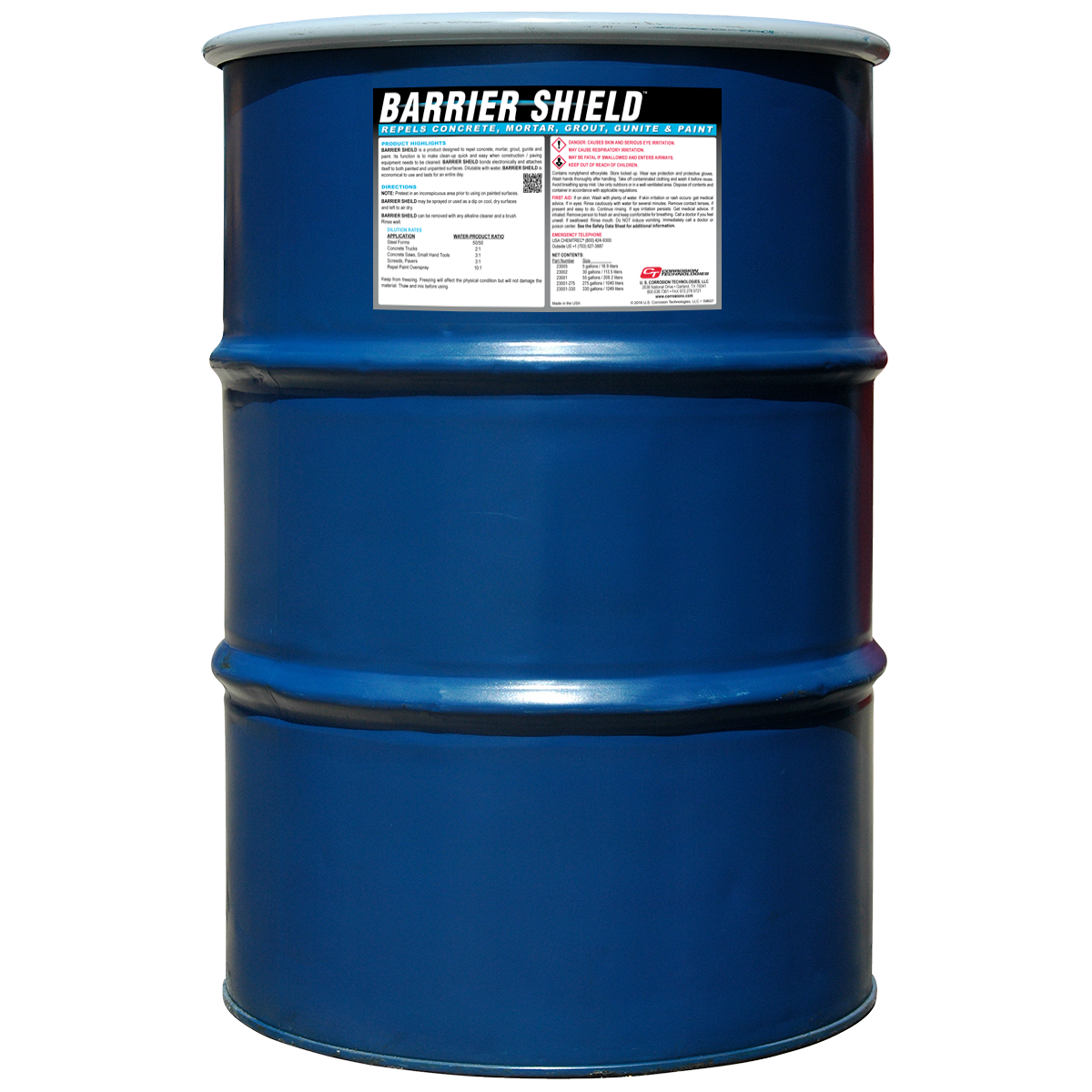 Barrier Shield concrete repellent coating