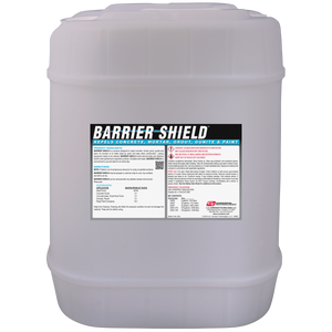 Barrier Shield™ concrete repellent coating
