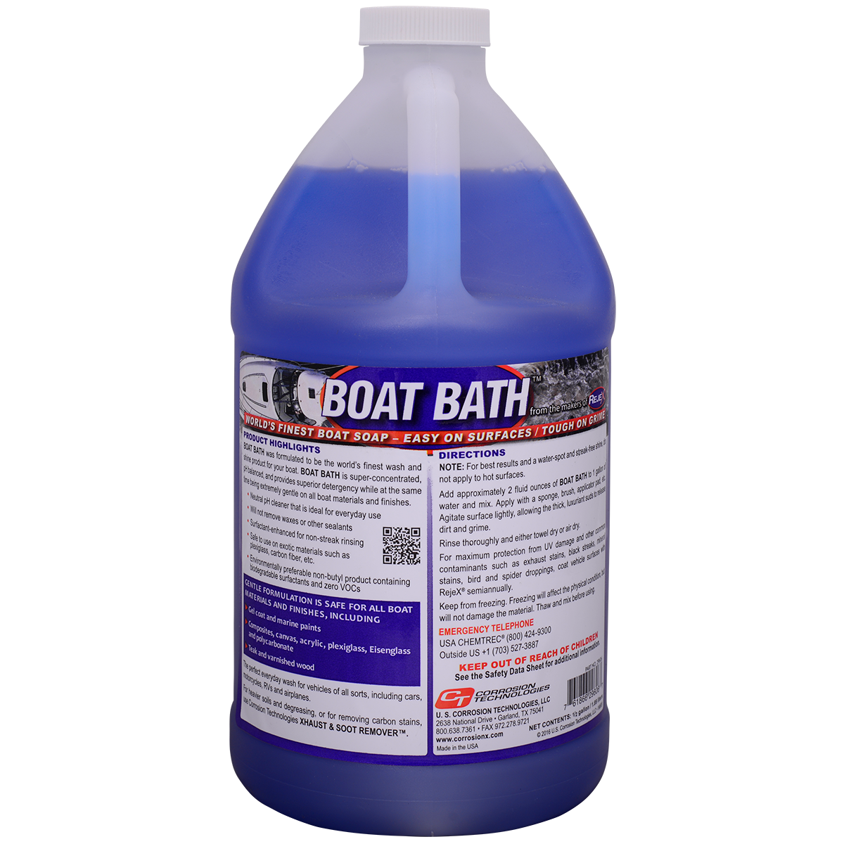 Boat Bath wash and shine boat soap