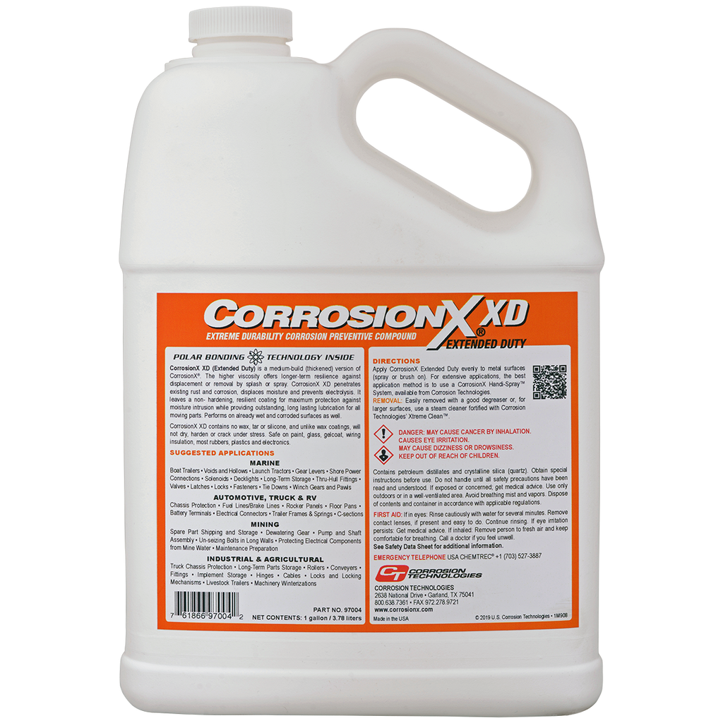 Corrosionx Extended Duty Corrosion Technologies