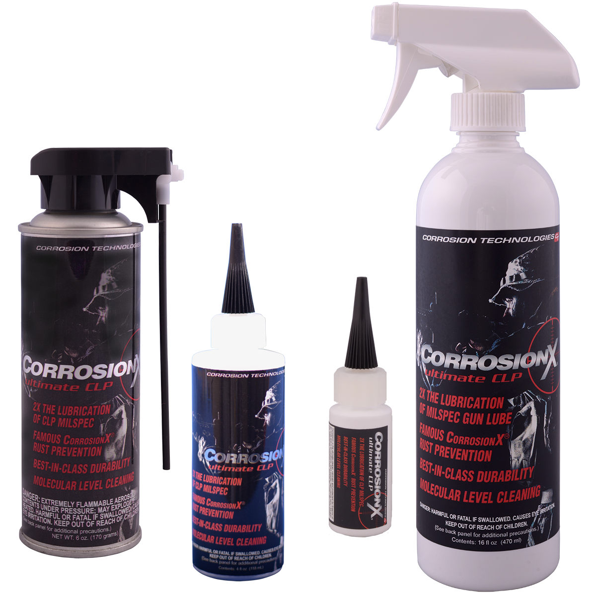 CorrosionX® Ultimate CLP cleaner lubricant and protectant for firearms