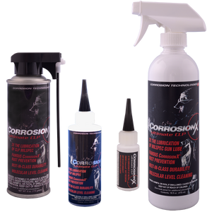 CorrosionX Ultimate CLP cleaner lubricant and protectant for firearms