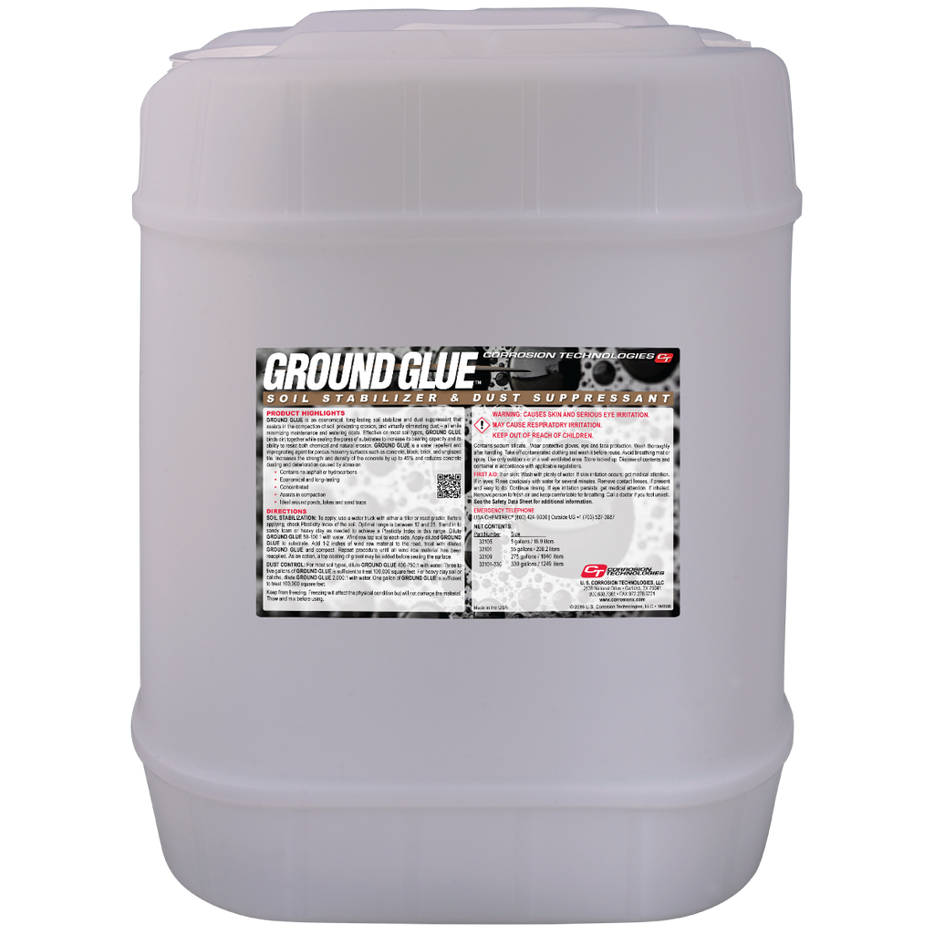 Ground Glue™ dust suppressant and soil stabilizer