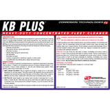 KB Plus™ heavy-duty, concentrated fleet cleaner