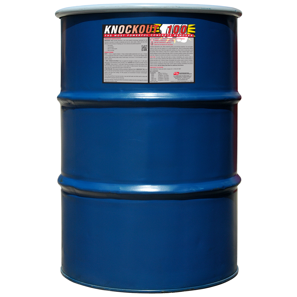 Knockout 100™ heavy-duty concrete remover
