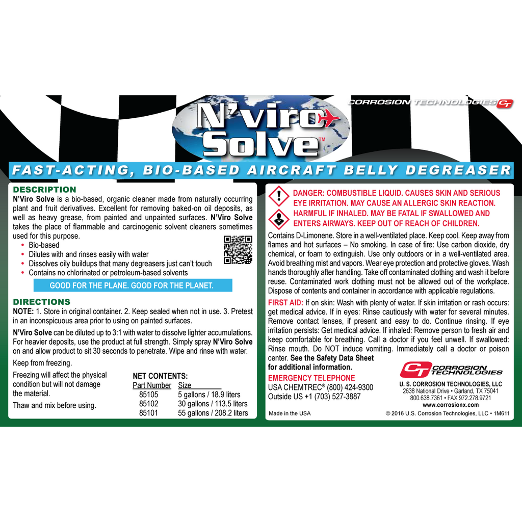 N'Viro Solve™ cleaner / degreaser