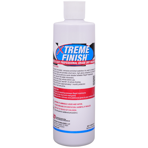 Xtreme Finish™ dry wash and wax