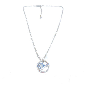 DIOR Logo Chain Necklace Y2K