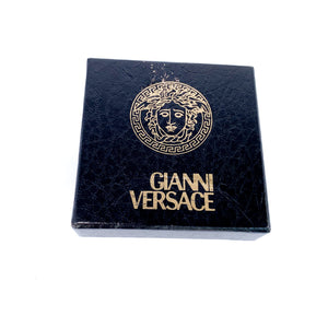 Versace Earrings Vintage 1990s Clip On