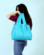 Turquoise Reusable Shopping Kind Bag
