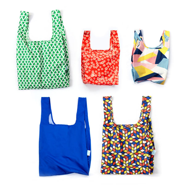 Kind Family Set - Mini & Medium Bundle - 100% recycled reusable bag *Free Delivery*