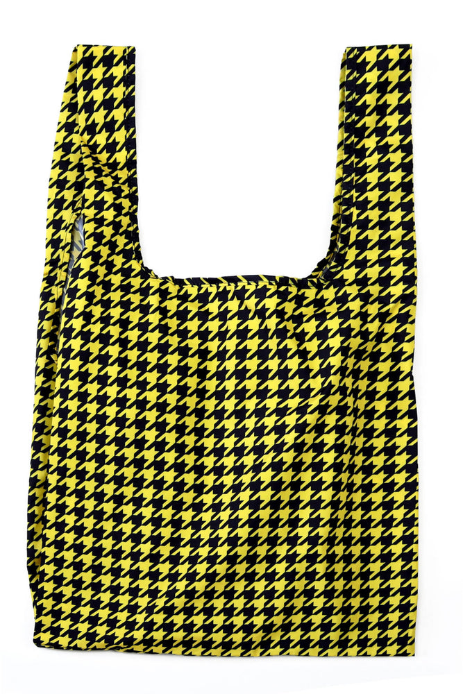 Dogtooth - 100% recycled reusable bag - Medium - kind-bag