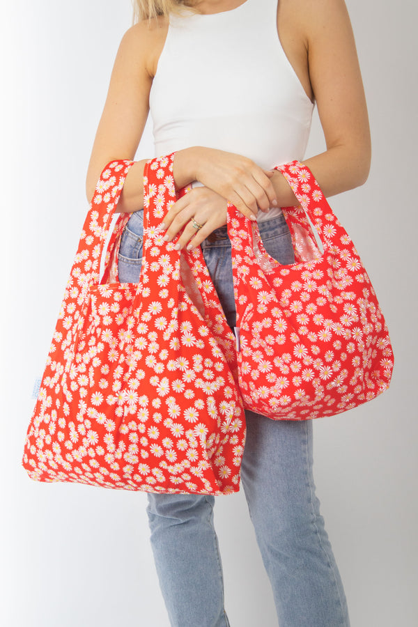 Daisy - Mini & Medium Bundle - 100% recycled reusable bag