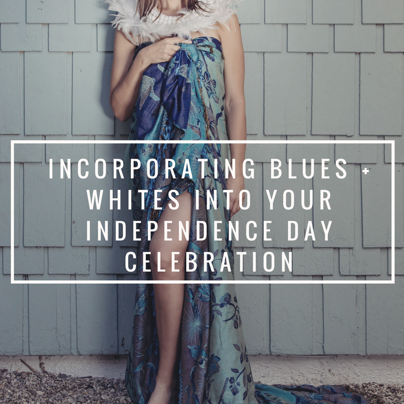 Blues + Whites for your Independence Day