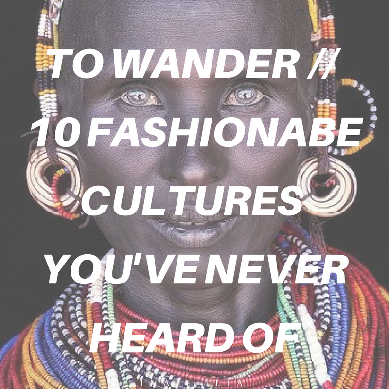 To Wander // Global Fashion