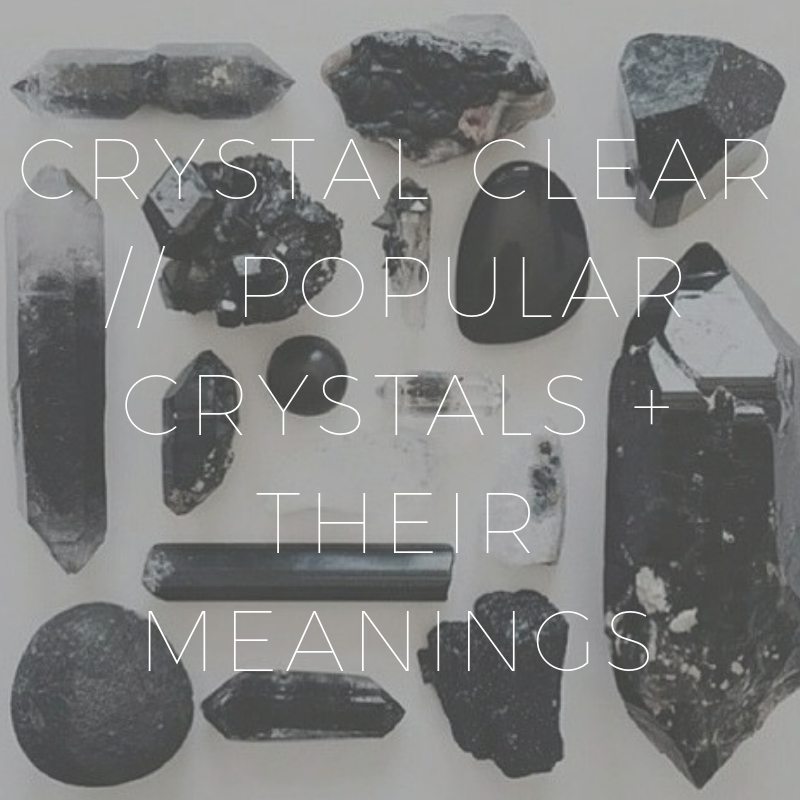 To Meditate // Crystal Clear