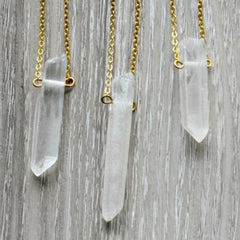 Clear Quartz Necklace INA + ILIA