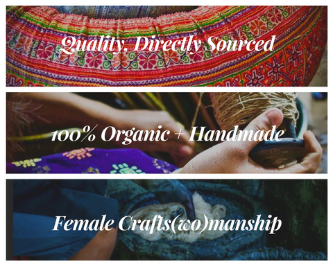 INA + ILIA Quality, Handmade and Directly Sourced