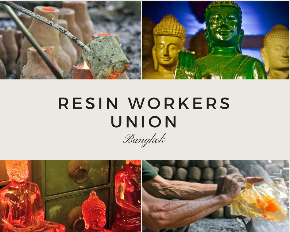Resin Workers Union Artisans Thailand INA + ILIA