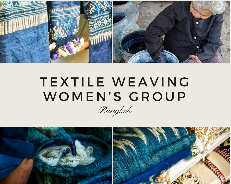 Textile Weaving Women's Group Thailand INA + ILIA