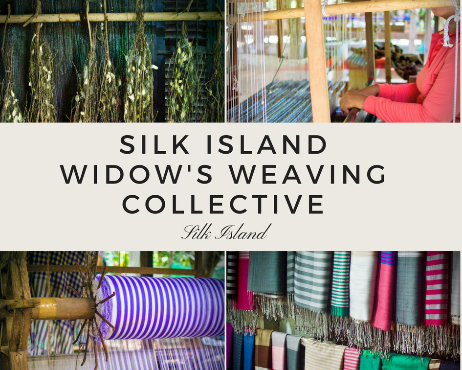 Silk Island Women's Weaving Collective INA + ILIA