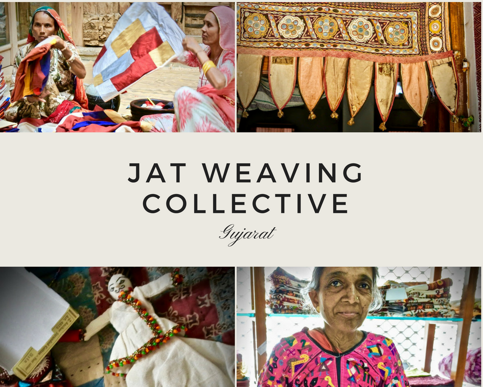 Jat Weaving Collective INA + ILIA Mirror Work Gujarat India