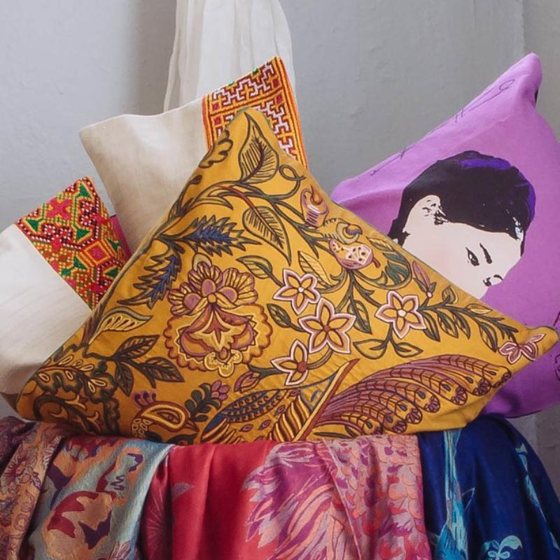 Suvarna Peacock Pillowcase