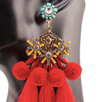 Alula PomPom Tassle Earrings