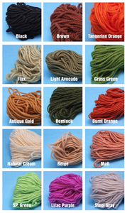 Aunt Lydia's Heavy Duty Rug Yarn Colors