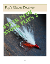 Load image into Gallery viewer, Snook Flies 2 (Paperback)