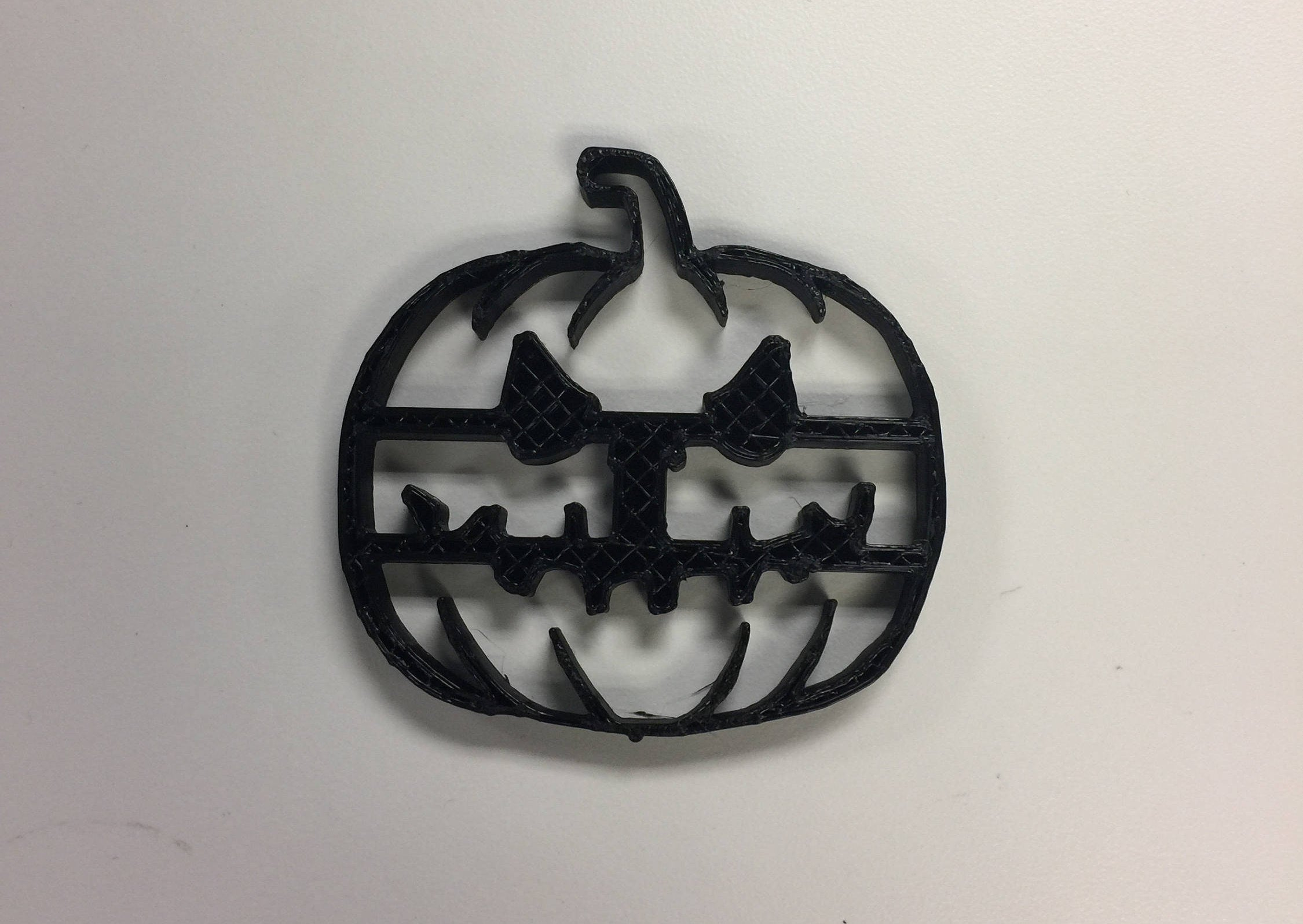 Scary Pumpkin Cookie Cutter ! 3D Printed! Halloween party food!