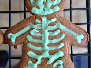 Halloween Skeleton Gingerbread Man Cookie Cutter! A culinary favorite with a horror twist!