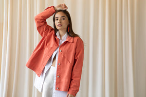 Veste Betty corail