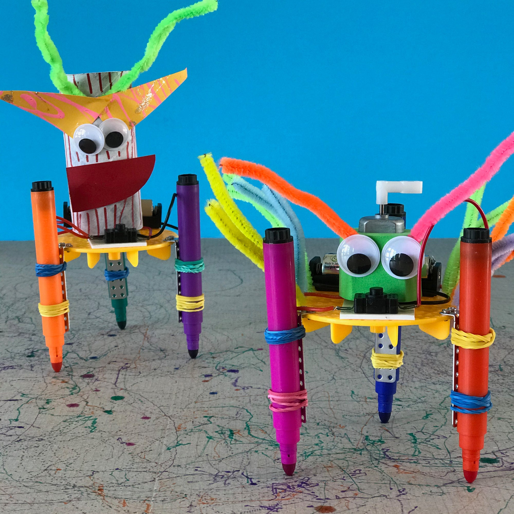 art robots kids STEAM activity