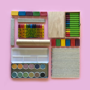 Enviromently friendly children's art and craft supplies