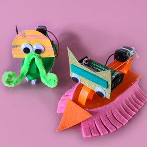 brush robot STEAM activity kit for children