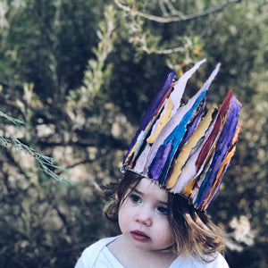 How to make beautiful nature crowns by Mini Mad Things