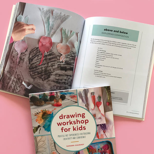 vegatable drawing activity for kids