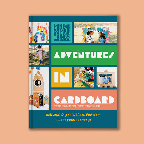 Adventures in cardboard kids craft book by Eleanor Ford