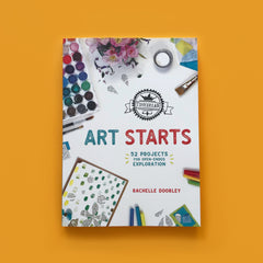 Art Starts by Tinkerlab kids art and craft activity book