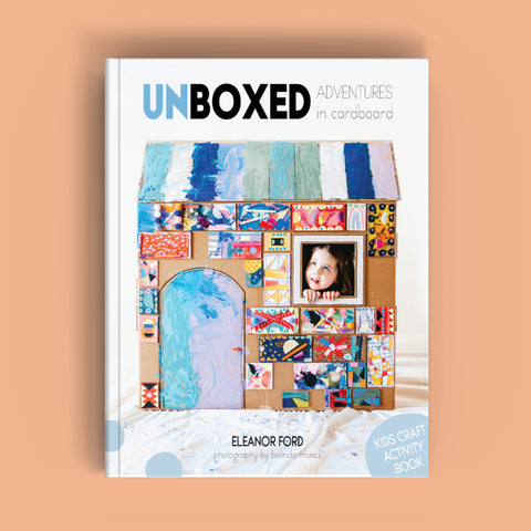 Unboxed Adventures in cardboard kids craft book