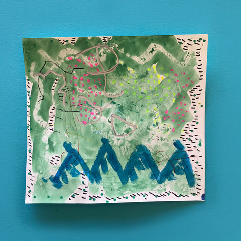 Collaborative drawing and painting with kids by Mini mad Things