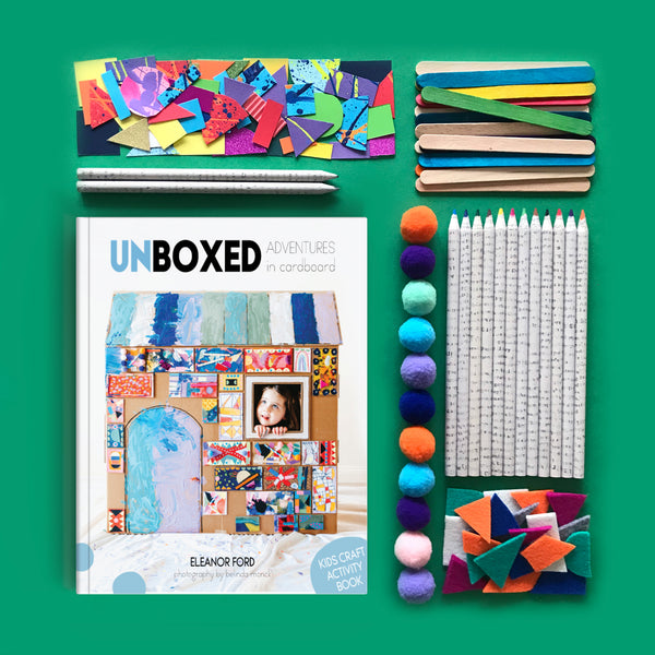 Save 20% with our book and art materials creative bundle