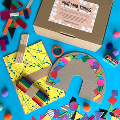Collage creative kids craft box