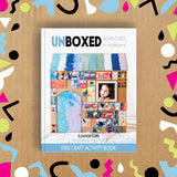 Unboxed: Adventures in cardboard kids craft book