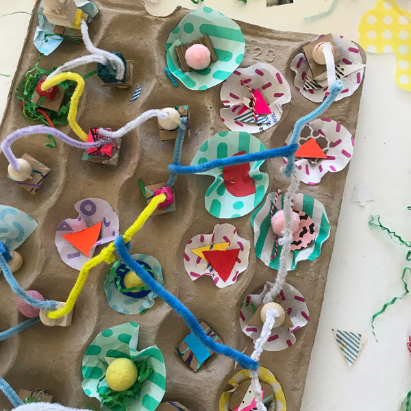 open-ended craft project for children